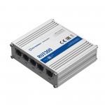 5 porttinen kytkin 100 Mbps Firewall, RMS tuki
