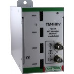 HDMI-modulaattori HDMI-DVB-T/C 4xHDMI-tulo/1xDVB-T/C-läh seinäm
