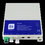Optinen lähetin 1310nm, FP 0dBm 47-1000 MHz, SC/APC