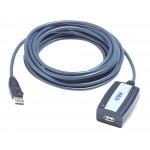 USB-jatko A/A 5m sis vahvistin USB2.0