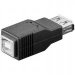Adapteri USB-A-naaras/B-naaras IP-pakattu