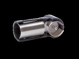 Antenniadapteri piippu DIN-naaras/ISO-uros