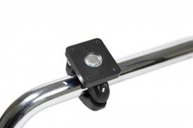 Brodit kiinnitysteline putkeen levy 50x42 mm putkeen 22-31 mm