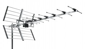 TV-antenni UHF K21-48 25el pakat 11-16,5dBi 1100mm LTE free