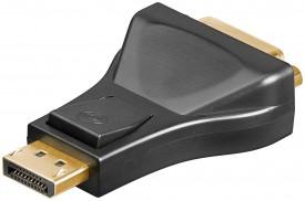 Adapteri DisplayPort uros>DVI-naaras