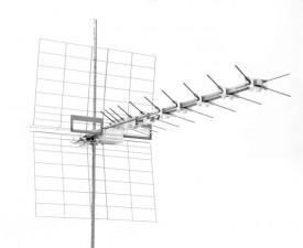 TV-antenni UHF 21-37 37el X-elem 13-15dBi 1470mm 5kpl/lte ICE