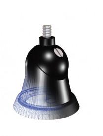 Jalka palloniv M6 musta BASE128 27-1000MHz LL58 3,65m UHFu