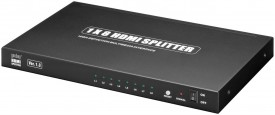 HDMI-jakaja 1>8 1080p EOL poisto