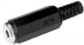 Naaras 3,5mm stereo muovi 738 IP-pakattu