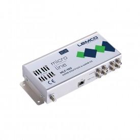 Transmod. 4xDVB-S/T/C-4xDVB-T/C FTA, 90dBuV, WEBGui, 2xPSU