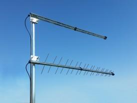GSM/LTE-suuntant 700/800/900MHz 2 x P-40+kiinn 45° 10m SMAu MIMO