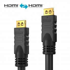 HDMI-välijohto 2,0m LSZH Secure-Lock-System AWG28