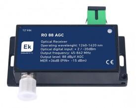 Optinen vastaanotin FTTH 88dbµV 1260-1620 nm,  47-862 MHz SC/APC