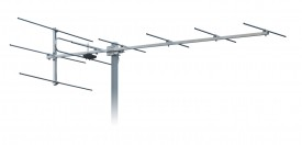 TV-antenni VHF K5-12 7-10dBi 9 element 1540 mm 10 kpl/ltk